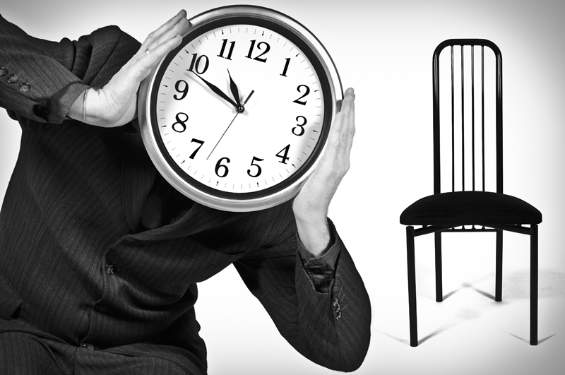Human Clock Panic Room - Galerie alainrousseau.com