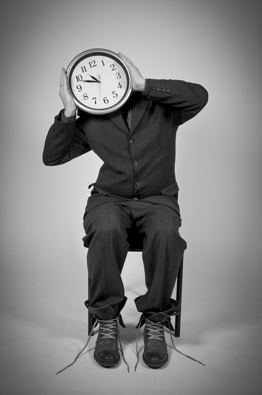 Human Clock Comes From There - Galerie alainrousseau.com