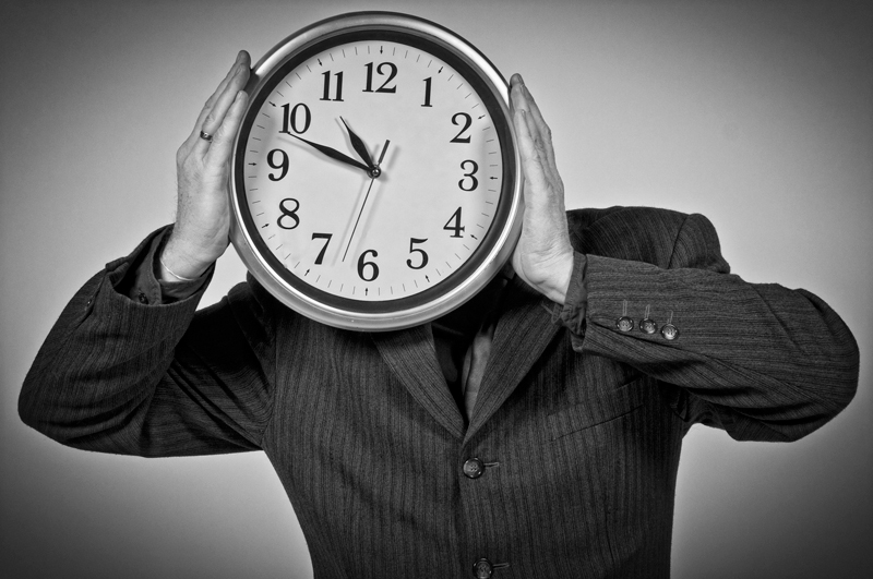 Human Clock Alone - Galerie alainrousseau.com